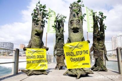 greenpeace protestors in durban