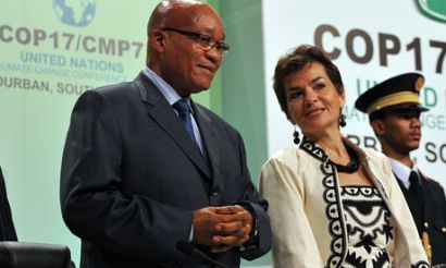 south africa and the other 'basic' countries are willing to take the plunge with a new climate contract