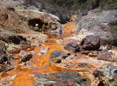 Acid Mine Drainage in Johannesburg