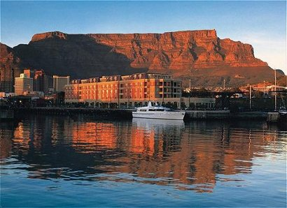 view of the cape grace hotel