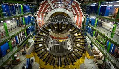 Large Hadron Collider (LHC) at the European Organisation for Nuclear Research (Cern).