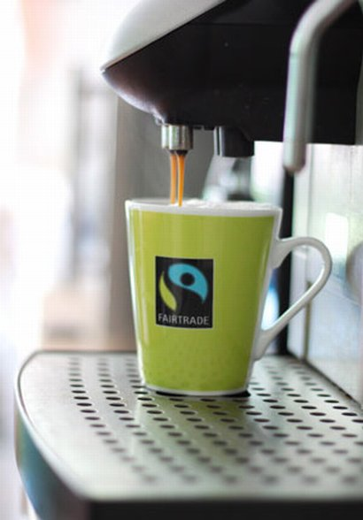 Enjoy a good cup of Fairtrade coffee today!