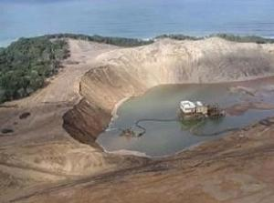 Pic: Sustaining the Wild Coast: Current dune mining operations near Richards Bay