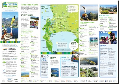 Second Edition Cape Town Green Map