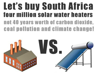 join the solar water heating campaign